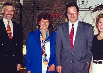 Guest book entry Aussenminister Dr Klaus Kinkel