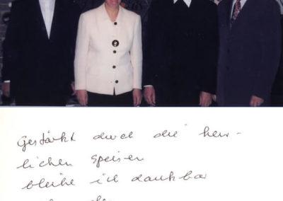 Guest book entry Erzbischof Zollitsch