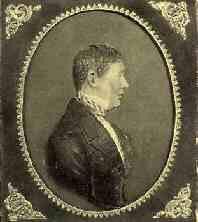 Seitenportrait von Johann Andreas, 1840