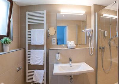 Ansicht eines Badezimmers